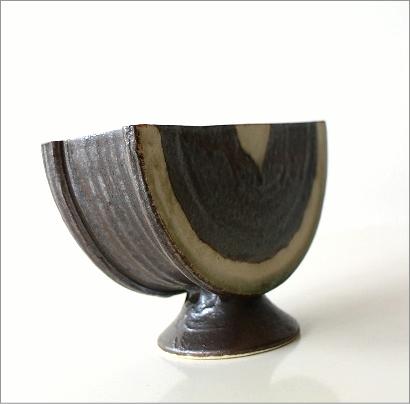 花器 陶器 和陶器ベース 二(3)