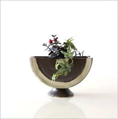 花器 陶器 和陶器ベース 二(4)