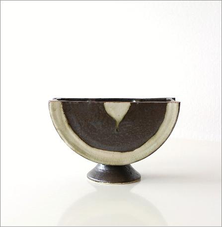 花器 陶器 和陶器ベース 二(5)