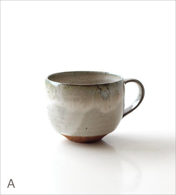 櫛目彫り面取り丸マグ 2カラー(4)