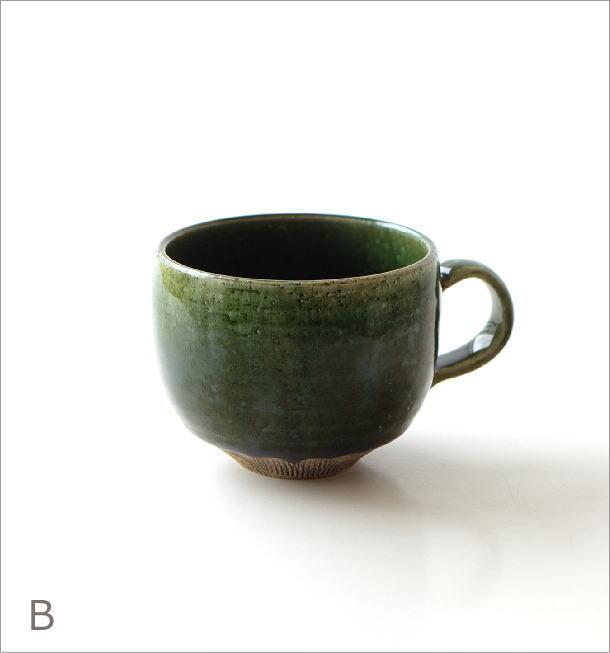 櫛目彫り面取り丸マグ 2カラー(5)