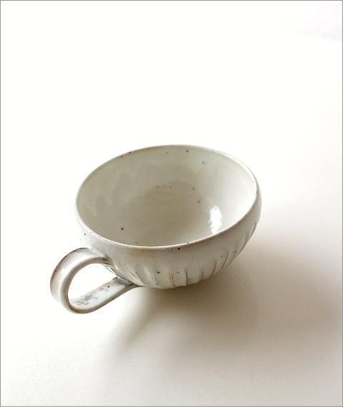 粉引削りスープカップ(1)