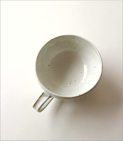 粉引削りスープカップ(4)