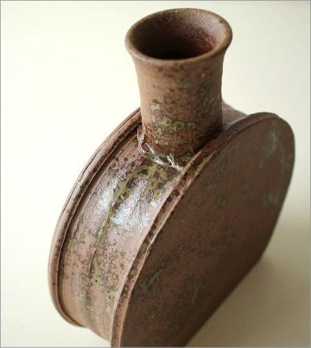 和陶器ベース 花瓶 五(2)