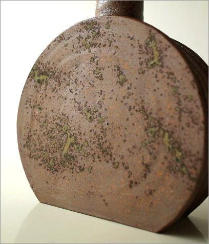 和陶器ベース 花瓶 五(3)