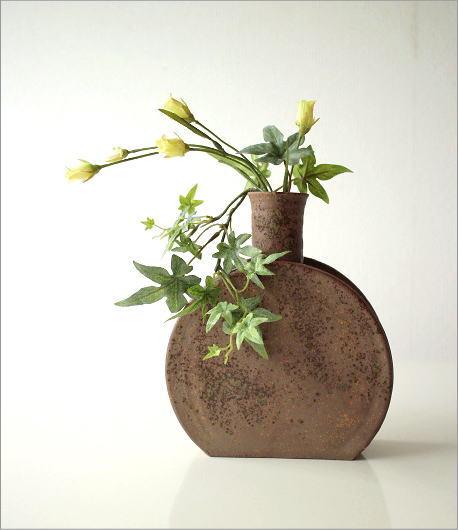 和陶器ベース 花瓶 五(4)