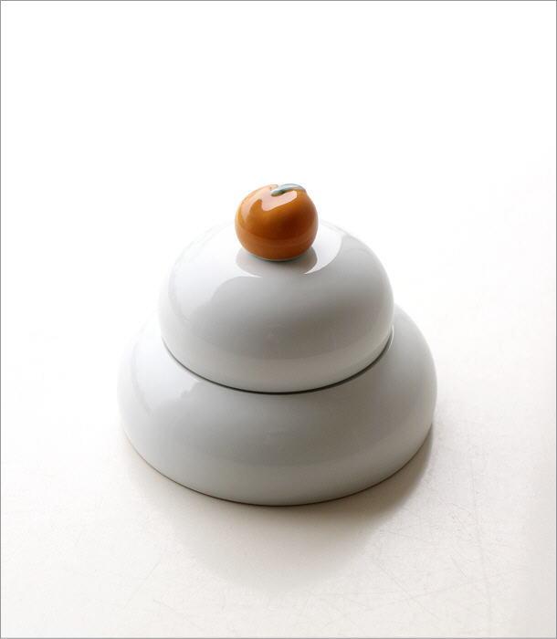 磁器の鏡餅プレートセット(7)