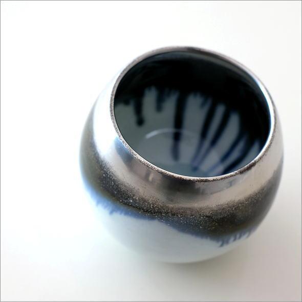 墨流し&シルバーしずくカップ(1)