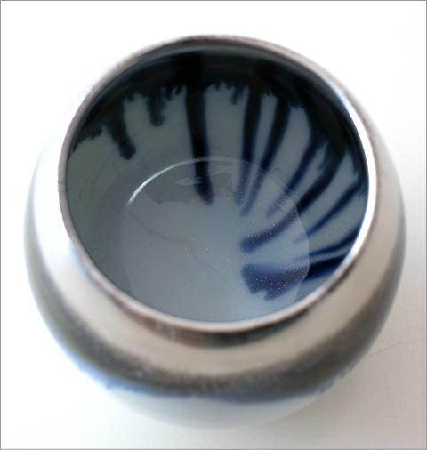 墨流し&シルバーしずくカップ(3)