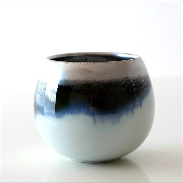 墨流し&シルバーしずくカップ(4)