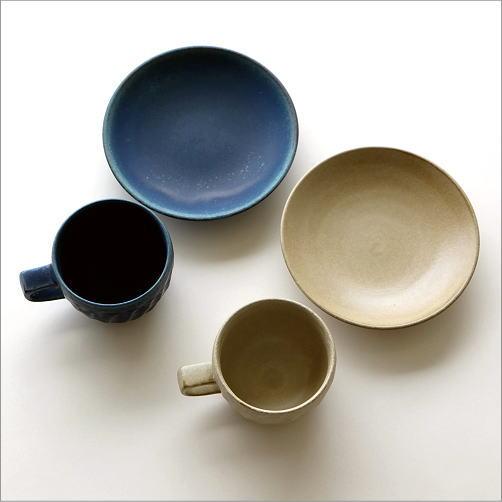 ねじり縞カップ&ソーサー2カラー(4)