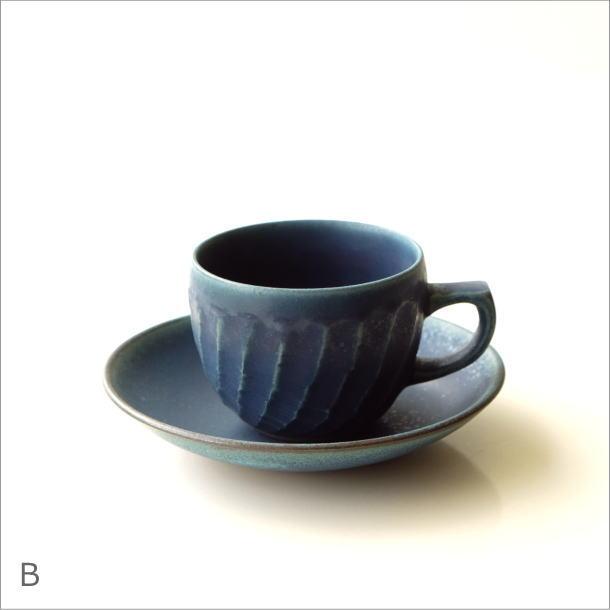 ねじり縞カップ&ソーサー2カラー(6)