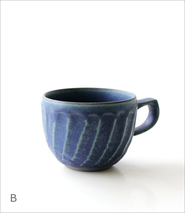 ねじり縞マグ 2カラー(5)