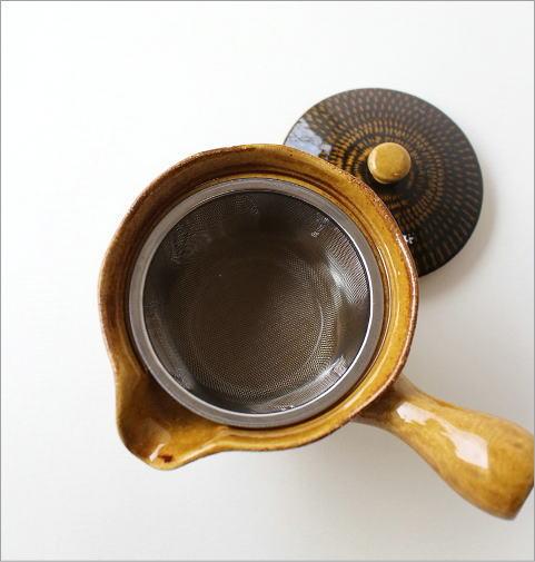 とびかんな 色釉急須(3)