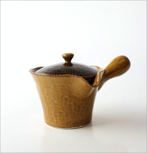 とびかんな 色釉急須(4)
