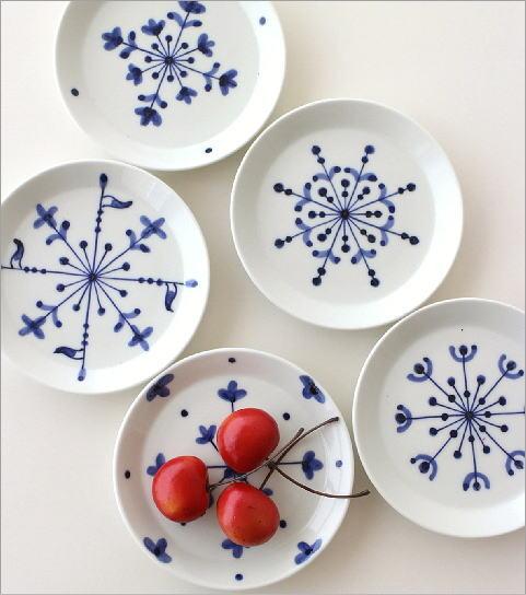 欧化紋小皿5セット(1)