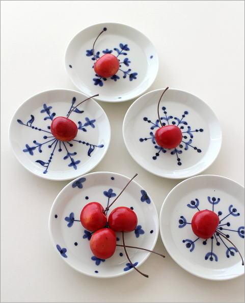 欧化紋小皿5セット(4)