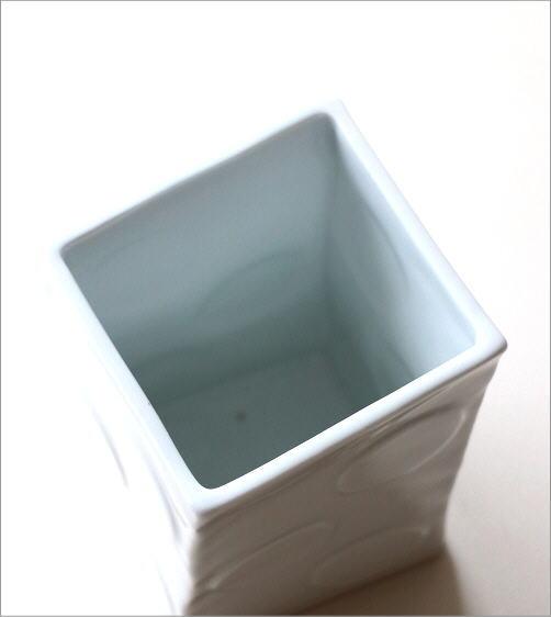 陶器の箸立て 白磁(2)