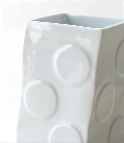 陶器の箸立て 白磁(3)