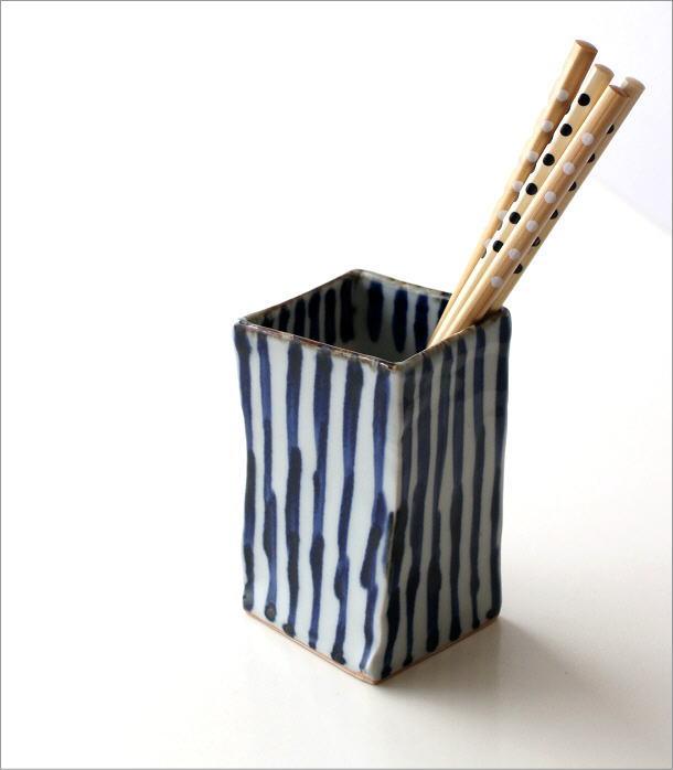 陶器の箸立て 濃十草(1)