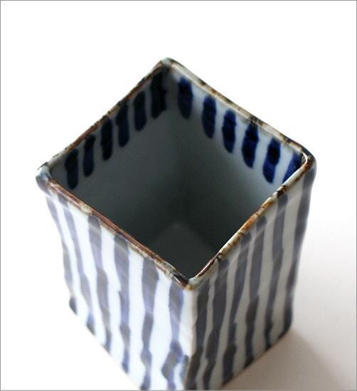 陶器の箸立て 濃十草(2)