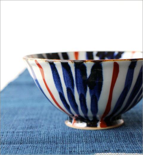飯碗 染付濃十草2カラー(3)
