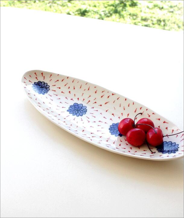 ひめのはな 舟形オーバル皿(1)