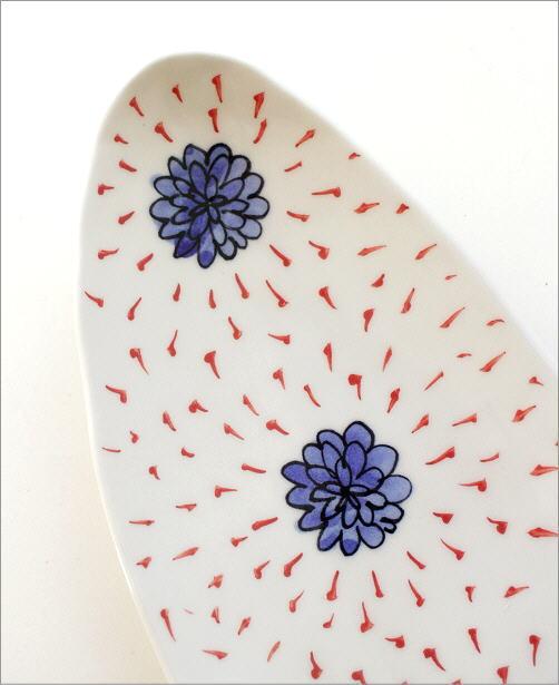 ひめのはな 舟形オーバル皿(2)