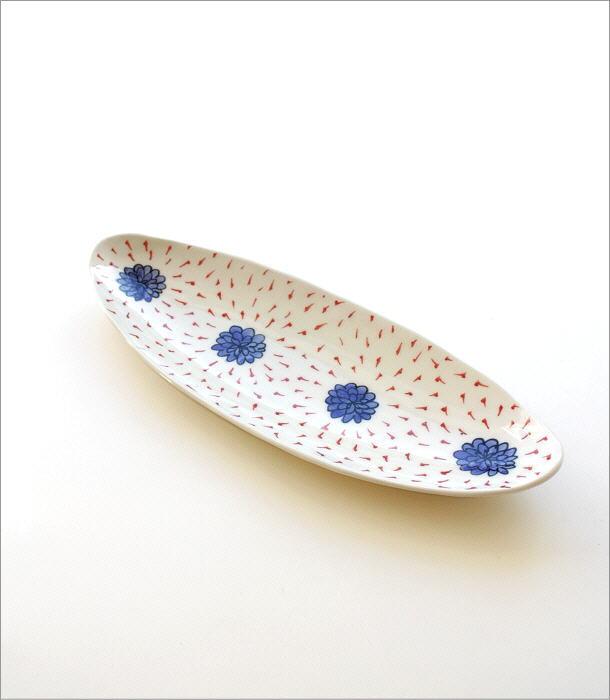 ひめのはな 舟形オーバル皿(4)