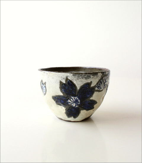 粉引波桜煎茶 2カラー(3)