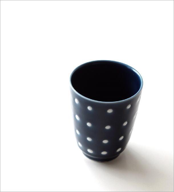 釉ドット湯のみ(1)
