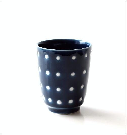 釉ドット湯のみ(4)