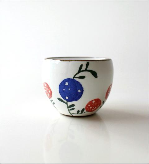 粉引丸煎茶 花の実(4)