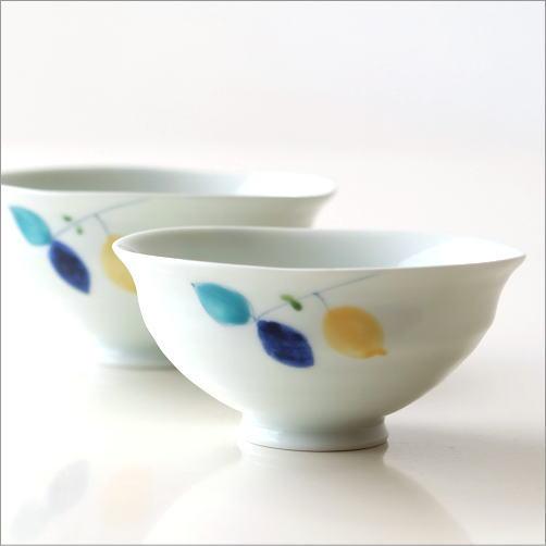ごはん茶碗 レモン大・小2コセット(3)