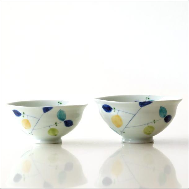 ごはん茶碗 レモン大・小2コセット(5)