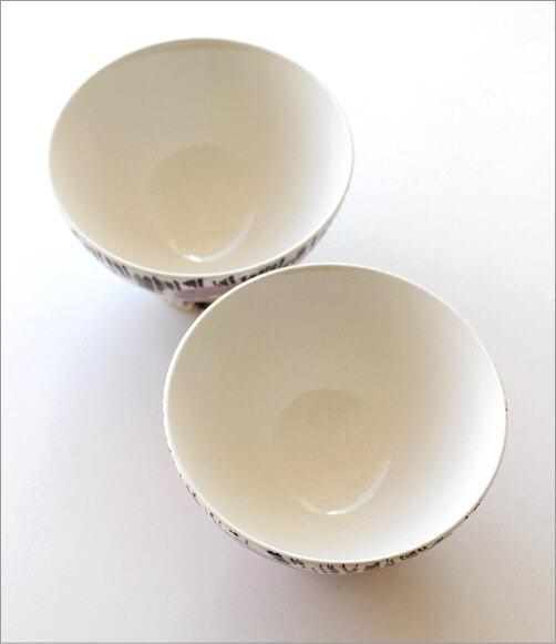 ごはん茶碗セット 刷毛花紋(2)