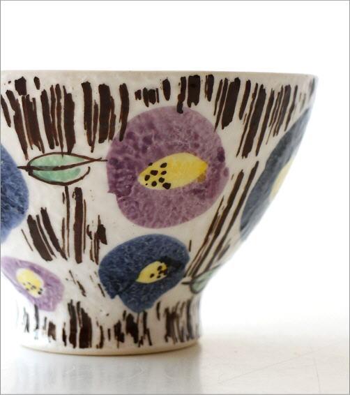 ごはん茶碗セット 刷毛花紋(3)