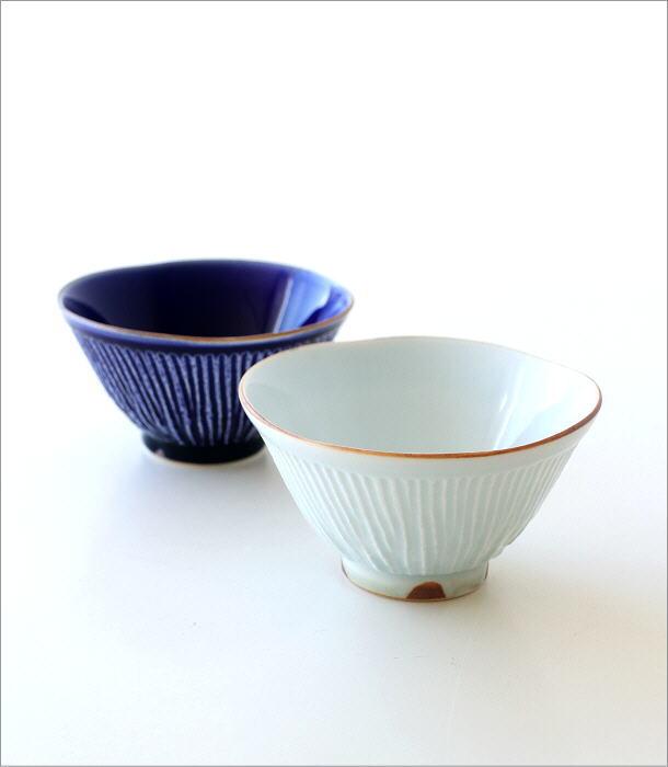 しのぎごはん茶碗 2カラー(1)