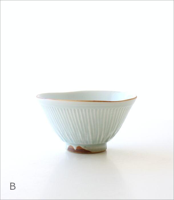 しのぎごはん茶碗 2カラー(6)