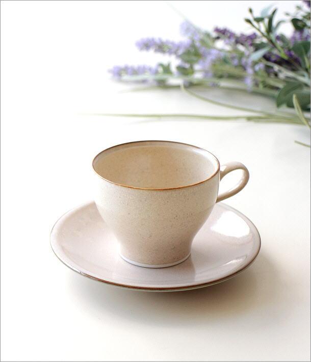 パール釉カップ&ソーサー(1)