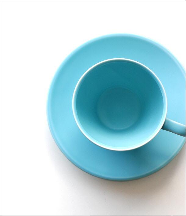 トルコブルーカップ&ソーサー(1)