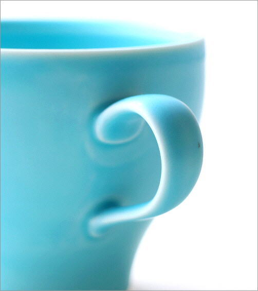 トルコブルーカップ&ソーサー(3)