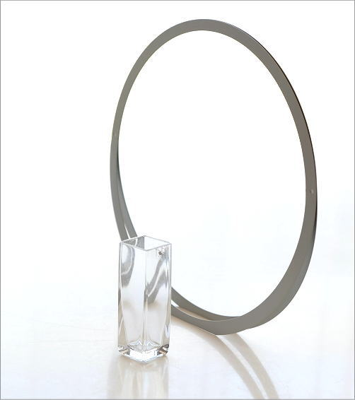 アルミとガラスのベース UT(3)