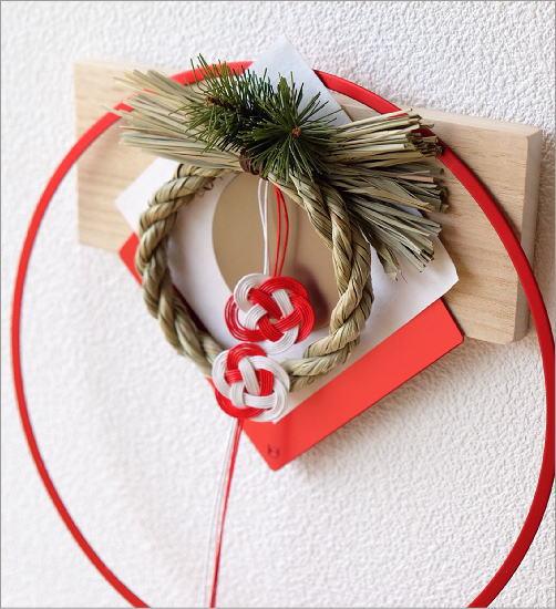 お正月飾り 笑門来福万寿紅(2)