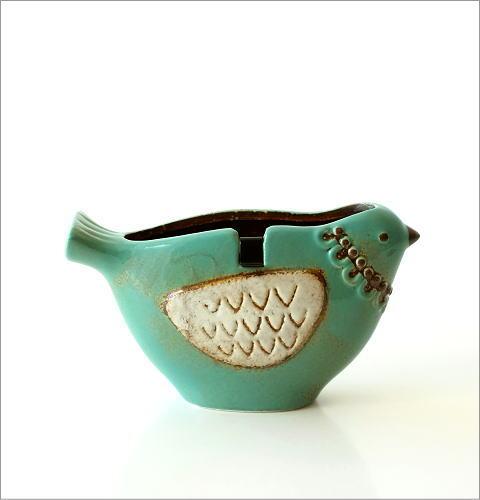 陶器の蚊遣り ブルーバード(4)