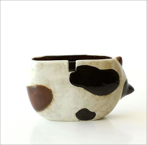 陶器の蚊遣り ミケネコ(4)