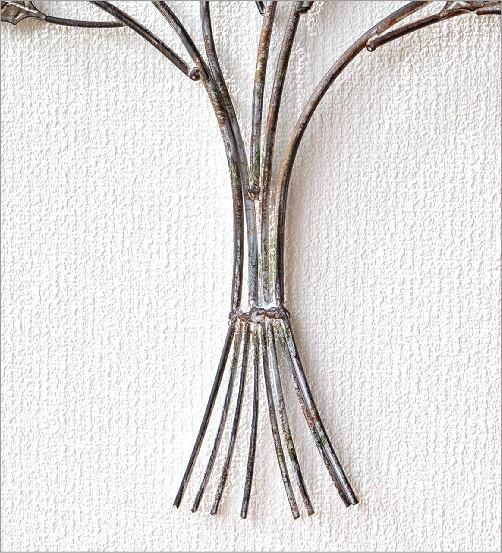 アイアンの壁飾り ドライリーフブーケ(3)