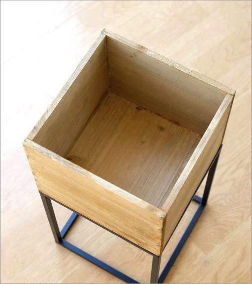 アイアンスタンドウッドボックス(3)