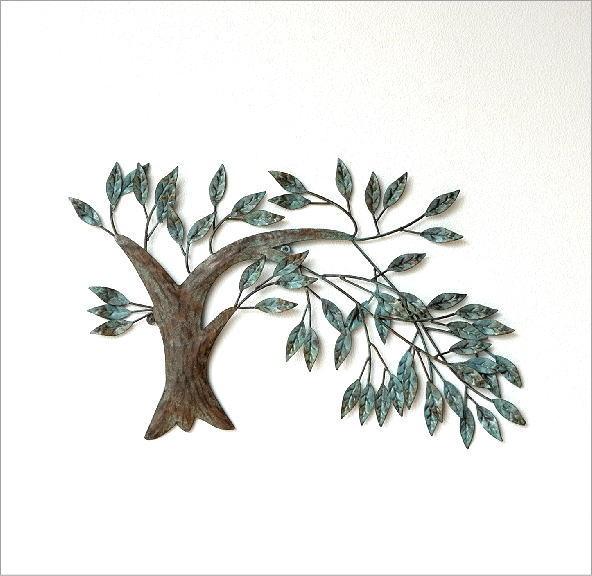アイアンの壁飾り ウィンドツリー(4)