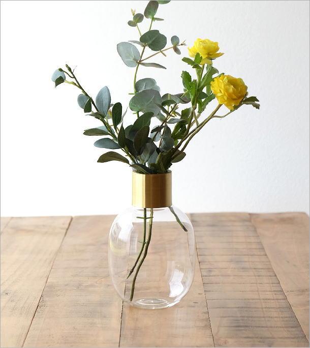 ガラスボトルベース ゴールドエッジ M(1)